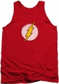 DC Universe tank top Rough Flash Logo mens red