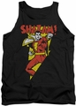 DC Universe tank top Shazam In Bolt mens black
