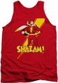 Shazam! tank top Shazam! mens red