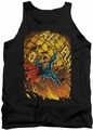 DC Universe tank top Superman #1 mens black