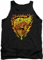 DC Universe tank top The Flash Blazing Speed mens black