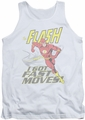 DC Universe tank top The Flash Fast Moves mens white