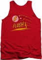 DC Universe tank top The Flash Like Lightning mens red