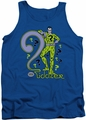DC Universe tank top The Riddler mens royal