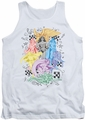 DC Universe tank top Women of the DC Universe Super mens white