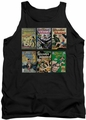 DC Universe tank top Wonder Woman Covers mens black