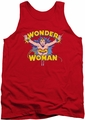 DC Universe tank top Wonder Woman Flying Through mens red