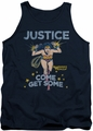 DC Universe tank top Wonder Woman Get Some mens navy