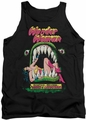 DC Universe tank top Wonder Woman Jaws mens black