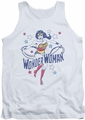 DC Universe tank top Wonder Woman Stars mens white