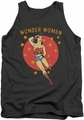 DC Universe tank top Wonder Woman Wonder Circle mens charcoal
