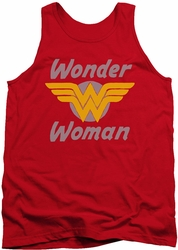 DC Universe tank top Wonder Woman Wonder Wings mens red