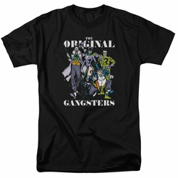 DC Villains t-shirt Original Gangsters mens black