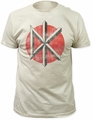 Dead Kennedys fitted jersey tee distressed logo mens vintage white pre-order
