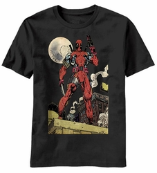 Deadpool Deaders Knell t-shirt men black