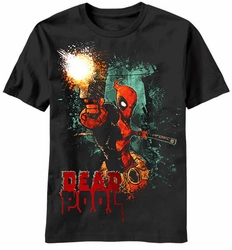Deadpool Phyrexia t-shirt men black