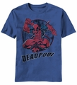 Deadpool Regen t-shirt men light navy