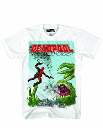 Deadpool Rex Wade Px White T-Shirt