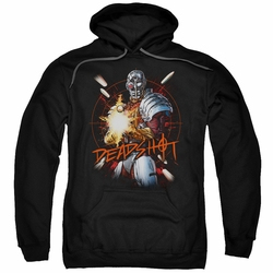 Deadshot pull-over hoodie Burst adult black
