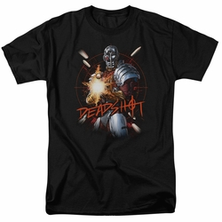 Deadshot t-shirt Deadshot mens black