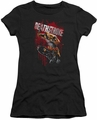 Deathstroke juniors t-shirt Blood Splattered black