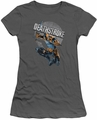 Deathstroke juniors t-shirt Retro charcoal