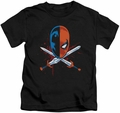 Deathstroke kids t-shirt Crossed Swords black