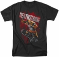 Deathstroke t-shirt Blood Splattered mens black