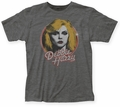 Debbie Harry Retro Debbie fitted jersey tee heather charcoal mens pre-order
