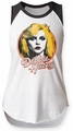 Debbie Harry Retro Debbie juniors sleeveless raglan white/black womens pre-order