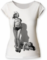 Debbie Harry Vulture juniors cut tee vintage white womens pre-order