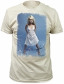 Debbie Harry white dress fitted jersey tee vintage white t-shirt pre-order