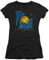 Def Leppard juniors sheer t-shirt Pyromania black