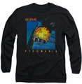 Def Leppard long-sleeved shirt Pyromania black