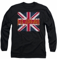 Def Leppard long-sleeved shirt Union Jack black