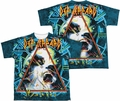 Def Leppard mens full sublimation t-shirt Hysteria