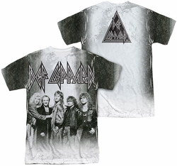 Def Leppard mens full sublimation t-shirt The Band