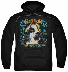 Def Leppard pull-over hoodie Hysteria adult black