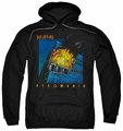 Def Leppard pull-over hoodie Pyromania adult black