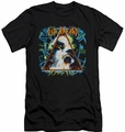 Def Leppard slim-fit t-shirt Hysteria mens black