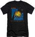 Def Leppard slim-fit t-shirt Pyromania mens black