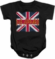 Def Leppard snapsuit Union Jack black
