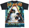 Def Leppard sublimated t-shirt Hysteria short sleeve