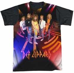Def Leppard sublimated t-shirt On Stage short sleeve