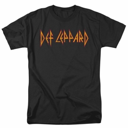 Def Leppard t-shirt Horizontal Logo mens black
