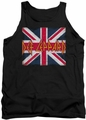 Def Leppard tank top Union Jack adult black