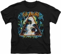 Def Leppard youth teen t-shirt Hysteria black