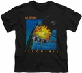 Def Leppard youth teen t-shirt Pyromania black