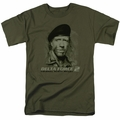 Delta Force 2 t-shirt You Can't See Me mens military green