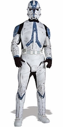 Deluxe Clone Trooper costume 501st Legion Adult size STD